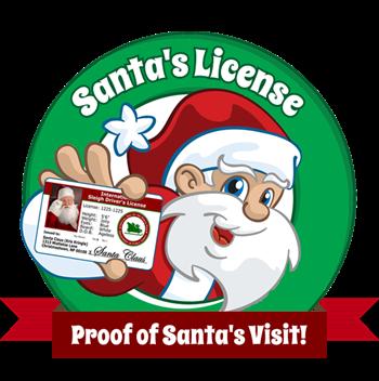 Santa's License Logo
